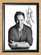 BRUCE SPRINGSTEEN Born To Run Signed Autographed A4 Print Poster Photo ticket cd