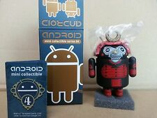 "Google DUNNY Android Mini Collectible Series 4  ""samurai""  Chaser by Andrew Bell"