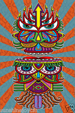 "3D Hungry EyesTapestry 60""x90"" Wall Hanging Art by Chris Dyer - FREE 3-D GLASSES"
