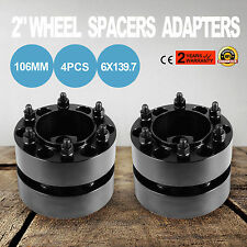 FOR Toyota 50mm Wheel Spacers 6x139.7 Tacoma (6 Lug Only) 2001-2015