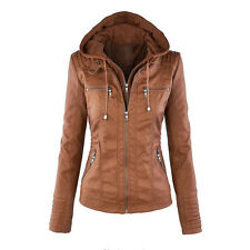 PLUS Winter Jacket Women Short Slim Hooded Coat Outwear Padded Warm Casual Parka