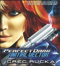 Initial Vector by Greg Rucka (2005, CD, Unabridged) AUDIOBOOKS  NEW 8 CDS