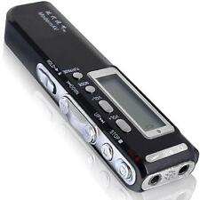 2GB LCD Digital SPY Voice Recorder Dictaphone Telephone 2G MP3 Player Earphone