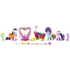 My Little Pony FIM Rarity, Rainbow Dash & Star Dreams Pony Spa Figures Set!