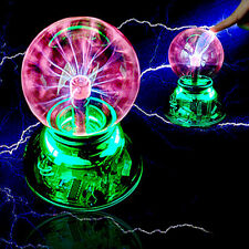 Magic USB Plasma Ball Light Crystal Desktop Globe Laptop Disco Lighting Bedroom!