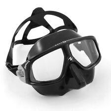 Aqualung Sphera LX schwarz mit kleinem Innenvolumen Apnoe Maske Freitauchen