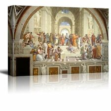 """The School of Athens by Raphael Giclee Canvas Prints Gallery Wall Art- 32"""" x 48"""""""