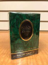 Vintage POISON by Christian Dior Women Perfume EDT Splash 1.7oz 50ml NIB Sealed