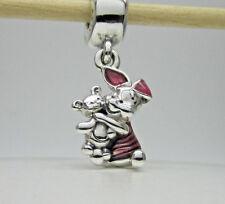 Authentic Pandora #792134EN117 Piglet Disney Dangle Charm