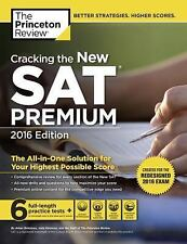 College Test Preparation: Cracking the New Sat Premium Edition 2016 by...