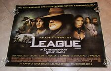 LXG, THE LEAGUE OF EXTRAORDINARY GENTLEMEN movie poster SEAN CONNERY, UK Quad