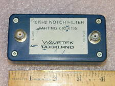 Wavetek / Rockland 002-6195 RF 10kHz Notch Filter