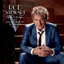 Fly Me to the Moon: The Great American Songbook, Vol. 5 by Rod Stewart (CD, O...