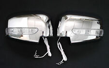 Mitsubishi Triton L200 2005-2015 Pajero Sport 2009-2014 LED Chrome Mirror Cover