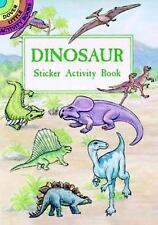 Dover Little Activity Books Stickers: Dinosaur Sticker Activity Book by A. G....