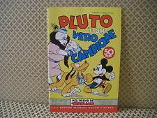 Pluto è un vero campione -Nel regno di Topolino-  Albo n. 79- 10-4-1939 (AB0)