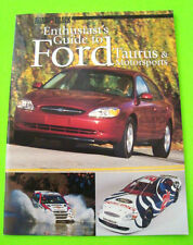 2000 ENTHUSIAST'S GUIDE TO FORD TAURUS & FORD MOTORSPORTS 36-pgs R&T BOOK nrMINT