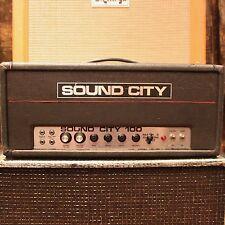 Vintage 1960s Sound City L100 100w Mark 3 Custom Built Dallas Amplifier SERVICED