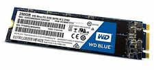 WD Blue M.2 250GB Internal SSD Solid State Drive - SATA 6Gb/s (wds250g1b0b)
