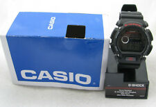 MENS CASIO DW9052-1VCG CLASSIC G-SHOCK BLACK RESIN DIGITAL CHRONOGRAPH WATCH