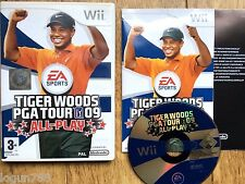 TIGER WOODS PGA TOUR 09 ALL-PLAY GAME FOR NINTENDO WII