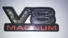 1 USED Dodge Dakota Ram OEM Magnum V8 emblems