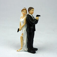 Funny Decorative Cake Toppers Sexy Spy Wedding Cake Toppers Doll Lover Birthday