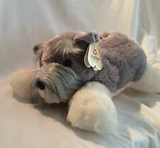 "Schnauzer 18""  Aurora Plush Soft Stuffed Plush Animal ""KAISER"" NWT"