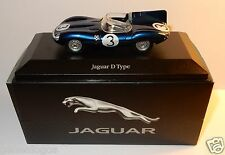 EDITIONS ATLAS JAGUAR D-TYPE N°3 LE MANS BLEU METAL 1954 1/43 BOX NO CERTIFICAT