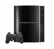 Sony PlayStation 3 80 GB Piano Black Console (CECH-01)