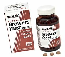 Healthaid Super Brewers Yeast 500 Tablets [Personal Care]