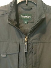 Outdoor Life Men's Water-Resistant Traveler Jacket Medium Green Brand New w/Tag