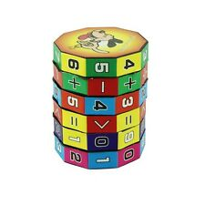 3D Kids Digital Cube Puzzle Play Number Maths Children Fun Education Toy Game