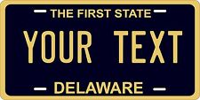 Delaware 1970 Plates Tag Personalized Auto Car Custom VEHICLE OR MOPED