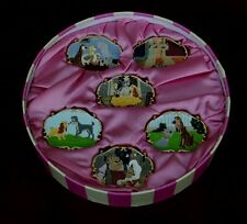 Disney 25th Anniversary Lady and the Tramp Collector's LE Pin Boxed 6-Pc Set