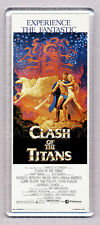CLASH OF THE TITANS movie poster WIDE FRIDGE MAGNET - HARRYHAUSEN CLASSIC!