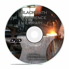 Vintage Blacksmith Reference Book Collection, Forging Steel, 175+ Books DVD V30