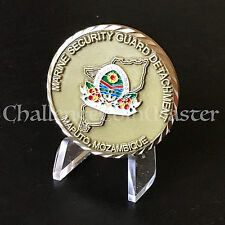 Marine Security Guard Detachment MSG Maptuo Mozambique Embassy Challenge Coin