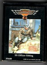 WARRIORS SCALE MODELS WA35440 - SS OFFICIER SITTING - 1/35 RESIN KIT