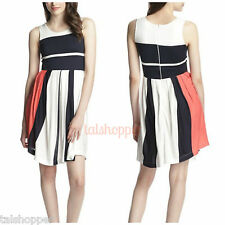 NWT 10 FRENCH CONNECTION Mia Medina Fit & Flare Jersey Knit Dress Rare SOLD OUT