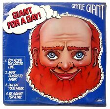 SEALED GENTLE GIANT: Giant For A Day LP CAPITOL RECORDS SW-11813 US 1978