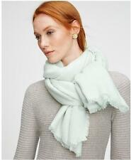 """NWT Ann Taylor 40"""" X 74"""" Blanket Scarf  $69.50   Pastel Green"""