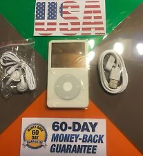 Apple iPod video classic 5th Generation white (60gb) New Battery