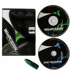 WinPCSIGN2009 Basic Cutting Software for Sign Making Vinyl Plotter Cutter New