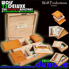 Wolf Productions T5 DELUXE Box - This Roll Tray is bigger than the T4!