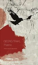 Seagull Books - the German List Ser.: Poems : Book One of Our Trakl by Georg...