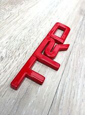 TRD RED COLOR  LOGO EMBLEM DECAL TOYOTA REVO VIGO FORTUNER