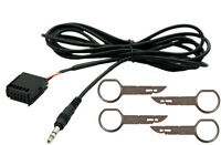 KIT CABLE AUX IN Mp3 Ford 2004  Fiesta Focus Fusion C-Max S-Max BUTTON a VIEW