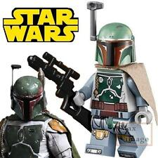 1pc Boba Fett Minifigure Bricks Toy Star Wars Clone Wars Custom Lego #609
