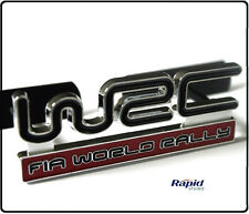Subaru WRC Grill Badge Red Rally WRX STI Emblem Logo Car Impreza Grille (99g)